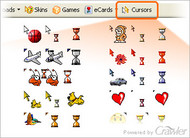 Crawler Cursors screenshot